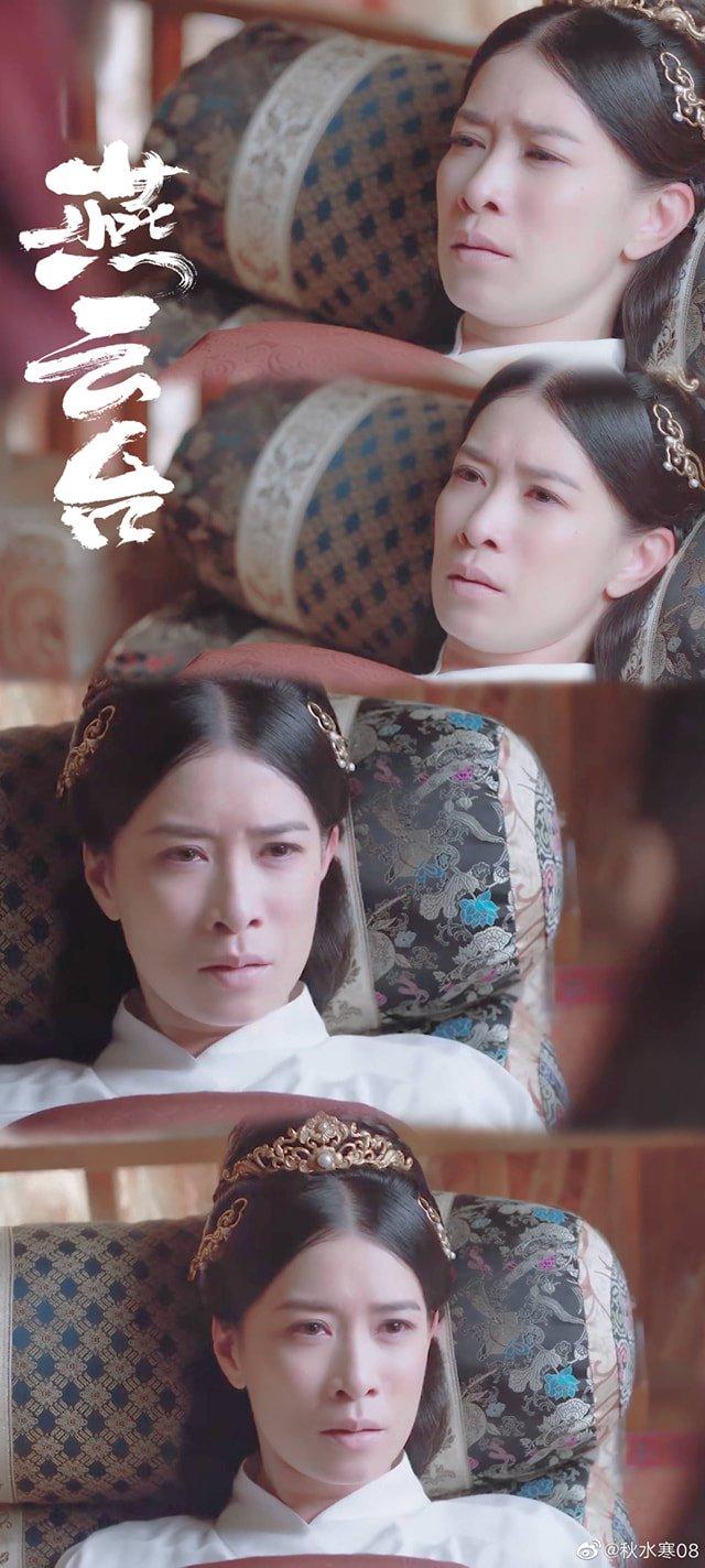 Yến Vân Đài: Chồng chết, Xa Thi Mạn lại bị sảy thai, nhìn cảnh khóc mà fan la hét ầm ĩ vì quá ngược - Ảnh 3.