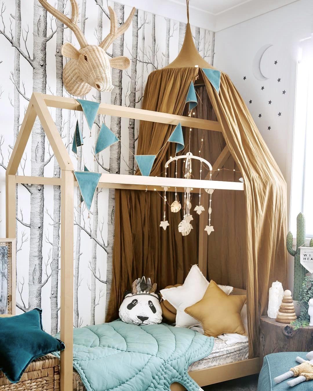 Ý tưởng trang trí phòng bé siêu dễ thương với chất liệu thân thiện môi trường - Ảnh 6.