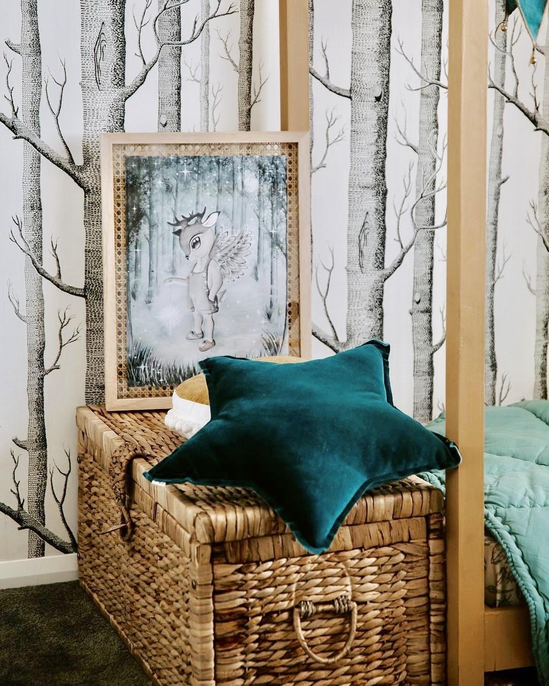 Ý tưởng trang trí phòng bé siêu dễ thương với chất liệu thân thiện môi trường - Ảnh 12.