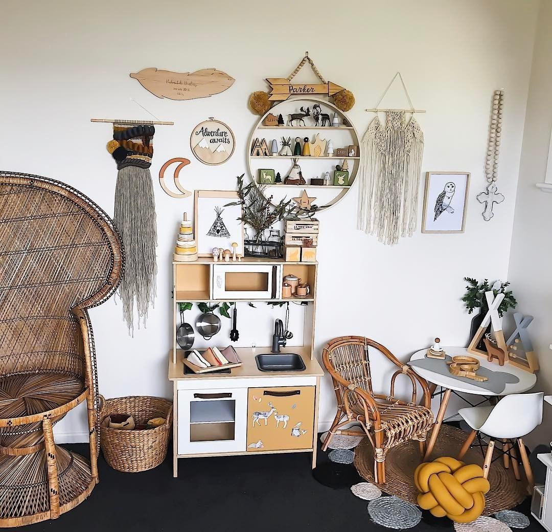 Ý tưởng trang trí phòng bé siêu dễ thương với chất liệu thân thiện môi trường - Ảnh 10.