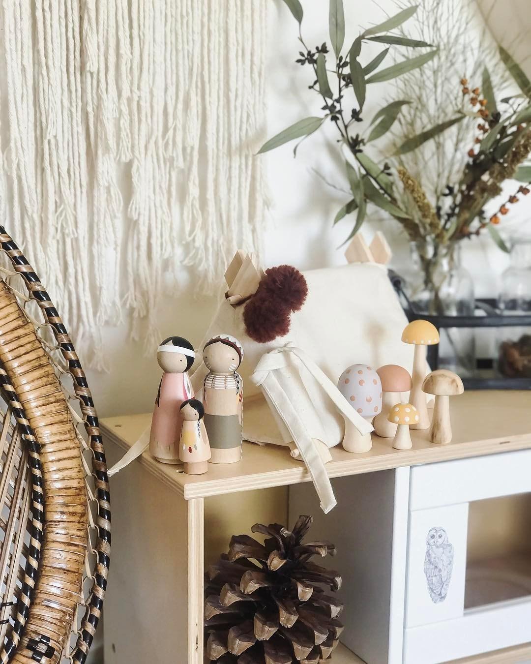 Ý tưởng trang trí phòng bé siêu dễ thương với chất liệu thân thiện môi trường - Ảnh 13.