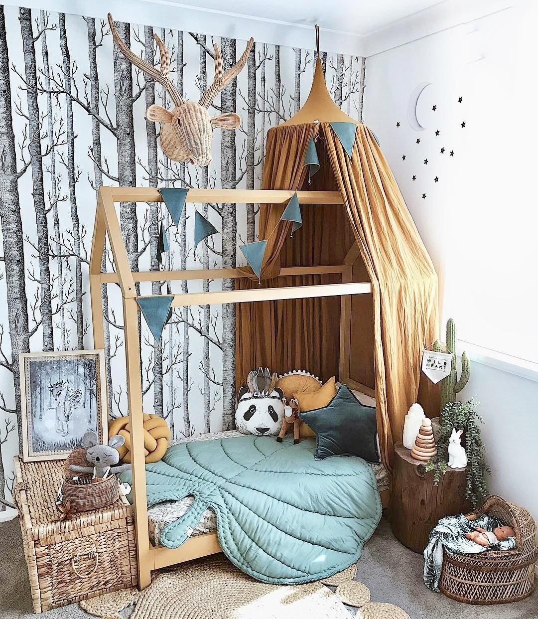 Ý tưởng trang trí phòng bé siêu dễ thương với chất liệu thân thiện môi trường - Ảnh 5.