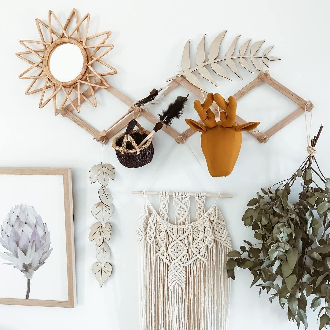 Ý tưởng trang trí phòng bé siêu dễ thương với chất liệu thân thiện môi trường - Ảnh 8.