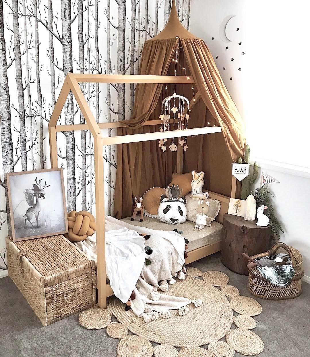 Ý tưởng trang trí phòng bé siêu dễ thương với chất liệu thân thiện môi trường - Ảnh 3.