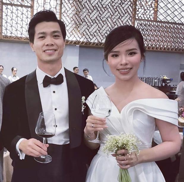 """1 ngày sau lễ cưới, cô dâu Viên Minh đã đổi ngay style, chú rể Công Phượng vẫn """"nhất kiếm chung tình"""" với một kiểu duy nhất - Ảnh 1."""