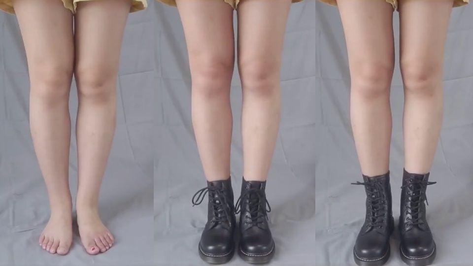 """Các chị em chân thô, đùi to đừng dại mua kiểu boots này nếu không nhược điểm """"chân voi"""" càng lộ rõ - Ảnh 1."""