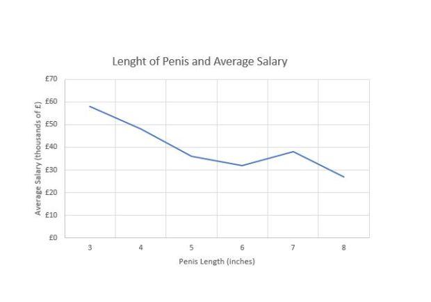 Khảo sát gần 1000 nam giới cho thấy: Của quý ngắn thì lương cao, phổng phao quá lại ít tiền - Ảnh 4.