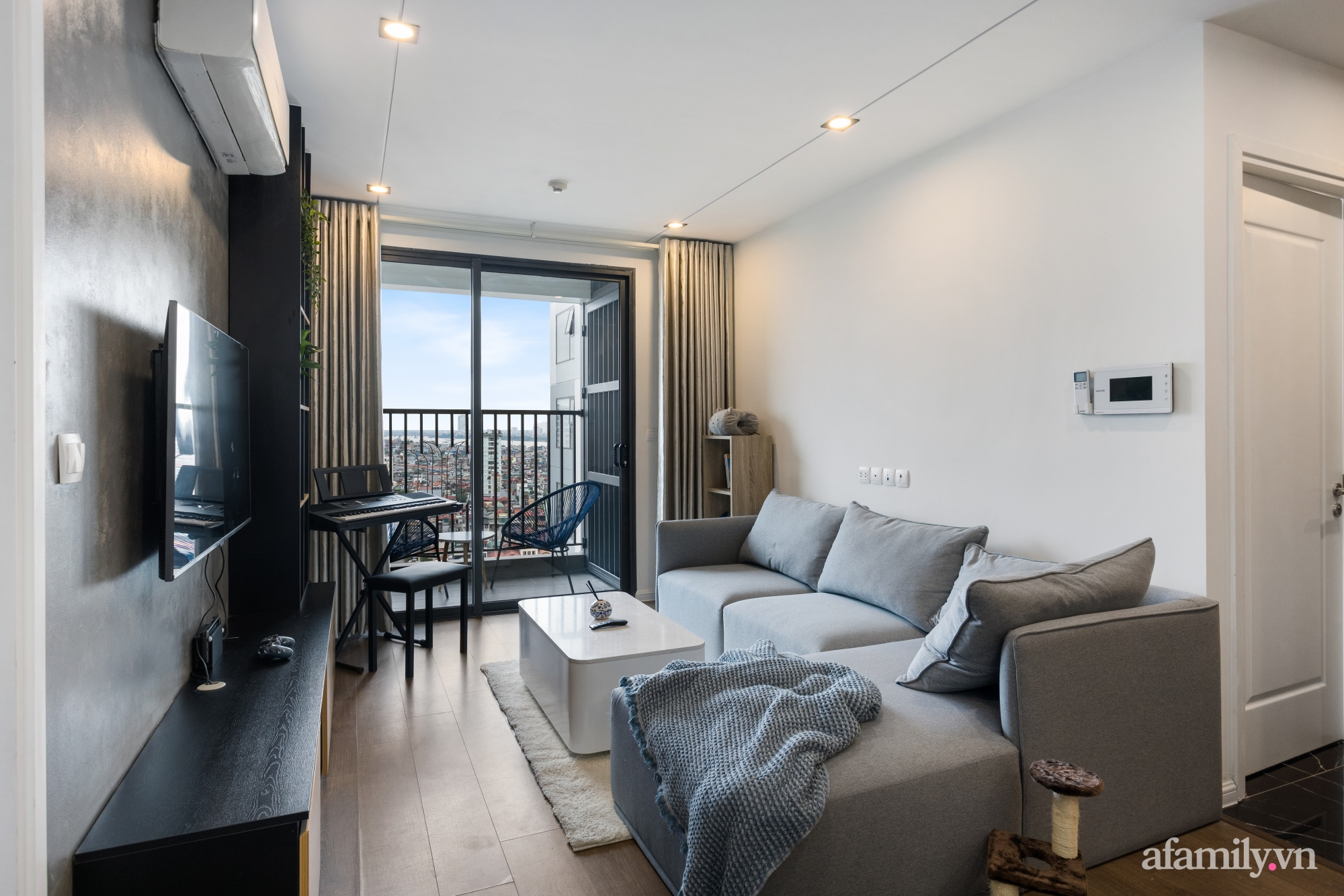 Chi 200 triệu đồng, blogger du lịch Sài Gòn thiết kế căn hộ tối giản rộng 83m² đẹp không góc chết nhờ đặt ra 5 nguyên tắc vàng - Ảnh 6.