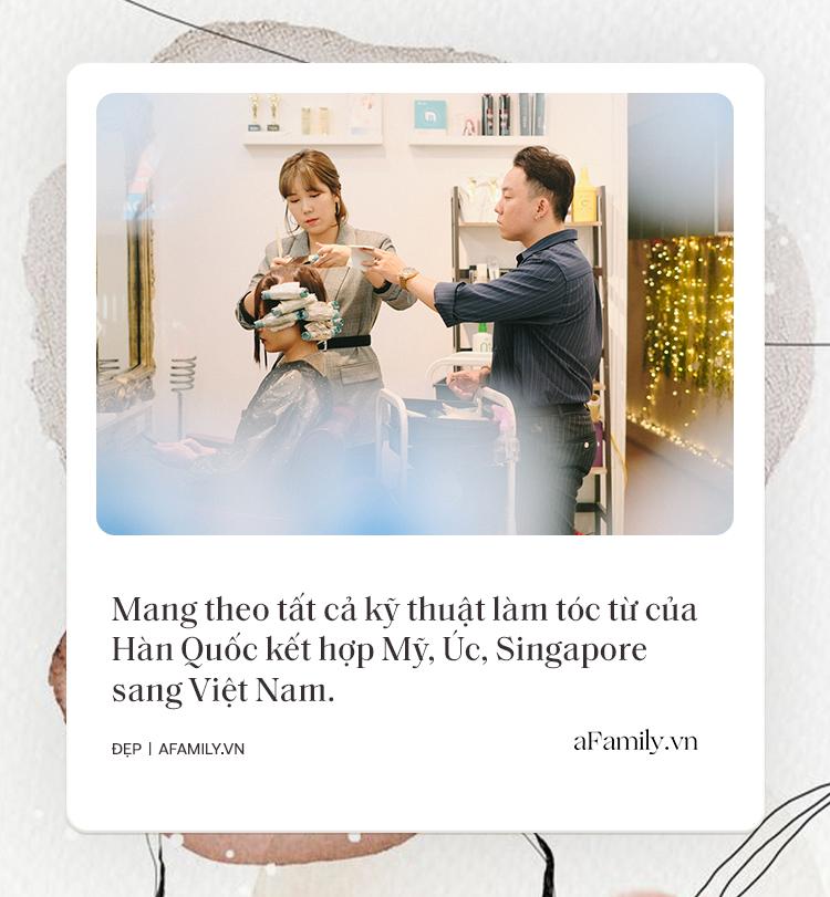 Tiệm làm tóc chuẩn Hàn giữa lòng Hà Nội: Tiết lộ luật bất thành văn khi làm tóc ở Hàn, chỉ ra sai lầm mà 90% khách Việt đều mắc phải - Ảnh 2.