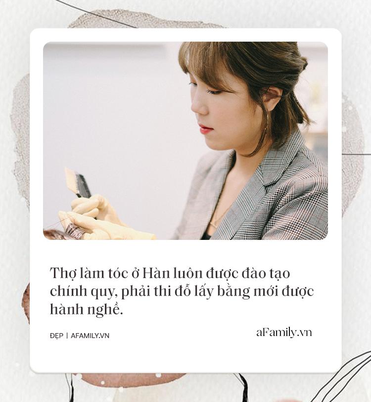 Tiệm làm tóc chuẩn Hàn giữa lòng Hà Nội: Tiết lộ luật bất thành văn khi làm tóc ở Hàn, chỉ ra sai lầm mà 90% khách Việt đều mắc phải - Ảnh 3.