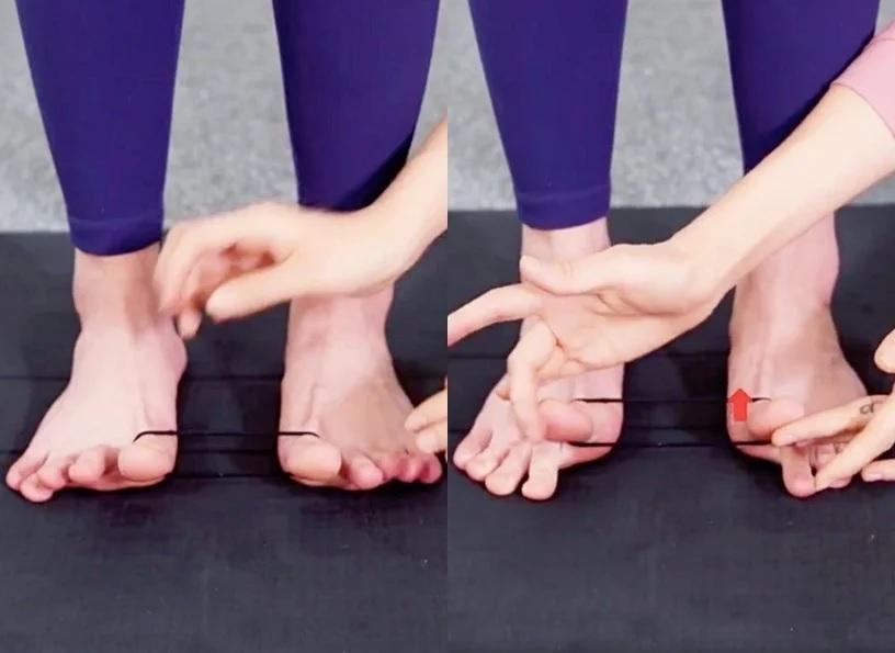 Hội chị em văn phòng có thể khiến chân thon nhỏ sau 2 tuần nhờ bài tập với sợi dây thun - Ảnh 4.