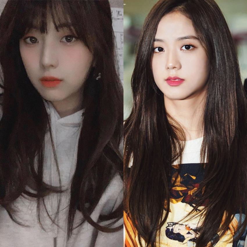 """Chị gái """"Hoa hậu"""" Jisoo: Makeup nhẹ mà vẫn xinh nức nở, bao lần đọ sắc với cô em đều ngang cơ - Ảnh 2."""
