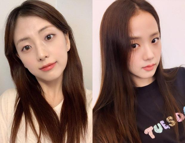"""Chị gái """"Hoa hậu"""" Jisoo: Makeup nhẹ mà vẫn xinh nức nở, bao lần đọ sắc với cô em đều """"ngang cơ"""" - Ảnh 5."""