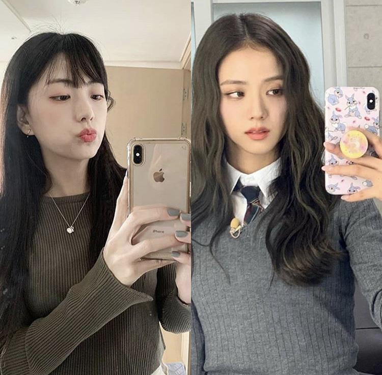 """Chị gái """"Hoa hậu"""" Jisoo: Makeup nhẹ mà vẫn xinh nức nở, bao lần đọ sắc với cô em đều ngang cơ - Ảnh 3."""