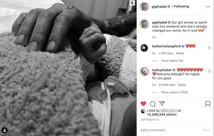 Cặp đôi số 1 Hollywood Gigi Hadid - Zayn Malik gây bão khi chia sẻ bức ảnh đầu tiên về con gái cưng trong dịp Halloween - Ảnh 4.