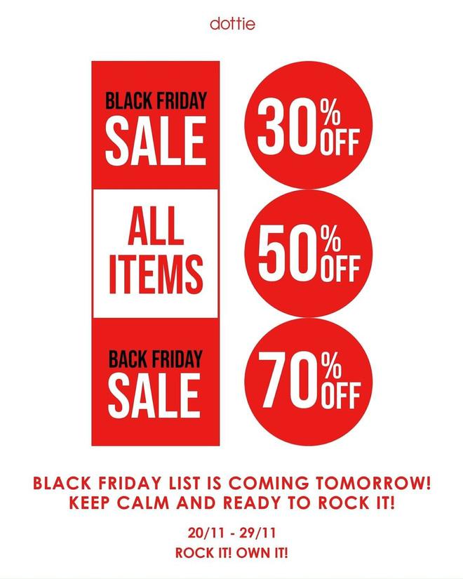 """Các shop quần áo rần rần sale """"sốc"""" Black Friday: Sắm đồ đẹp với giá giảm đến 70% ngay từ bây giờ - Ảnh 2."""
