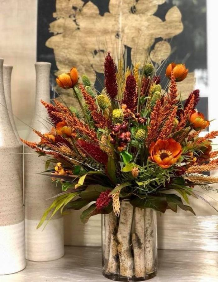 Gợi ý cắm hoa giả tạo nét đẹp tinh tế và lãng mạn bừng sáng không gian sống - Ảnh 4.