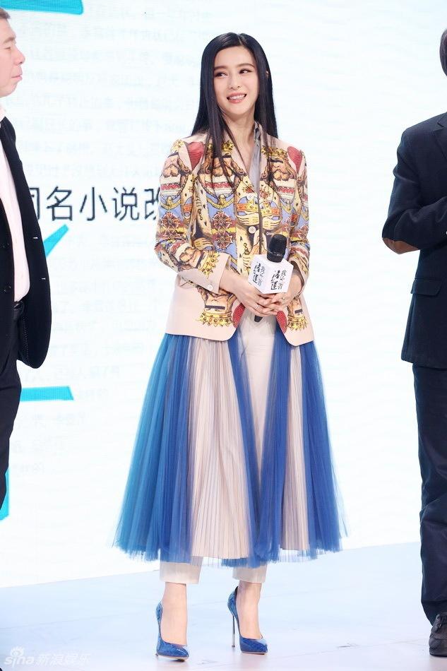 Lời nguyền mặc xấu của sao Hoàn Châu Cách Cách: Lâm Tâm Như và Triệu Vy dìm hàng hiệu, visual Phạm Băng Băng tụt dốc không phanh - Ảnh 6.