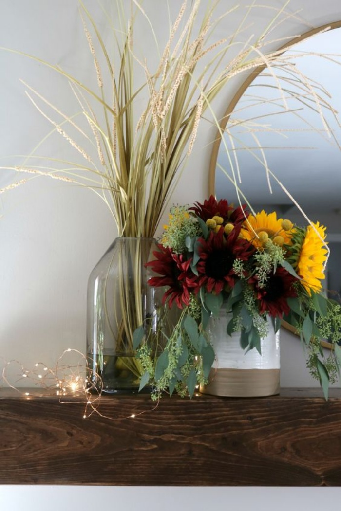 Gợi ý cắm hoa giả tạo nét đẹp tinh tế và lãng mạn bừng sáng không gian sống - Ảnh 5.