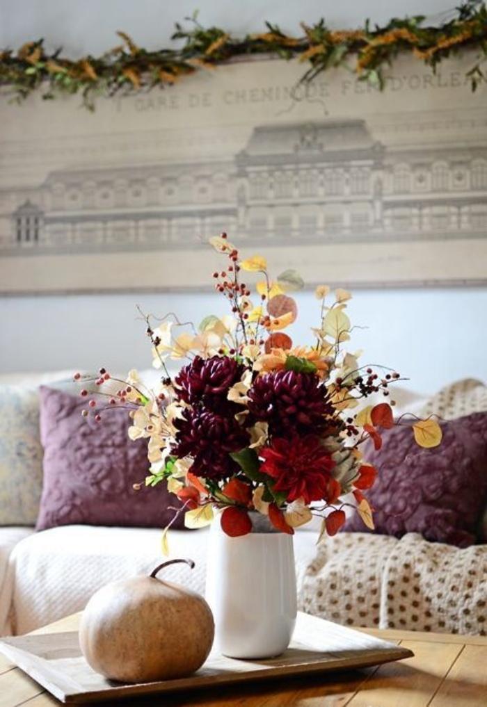 Gợi ý cắm hoa giả tạo nét đẹp tinh tế và lãng mạn bừng sáng không gian sống - Ảnh 10.