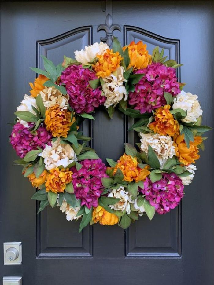Gợi ý cắm hoa giả tạo nét đẹp tinh tế và lãng mạn bừng sáng không gian sống - Ảnh 11.