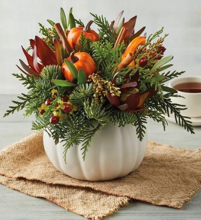 Gợi ý cắm hoa giả tạo nét đẹp tinh tế và lãng mạn bừng sáng không gian sống - Ảnh 13.