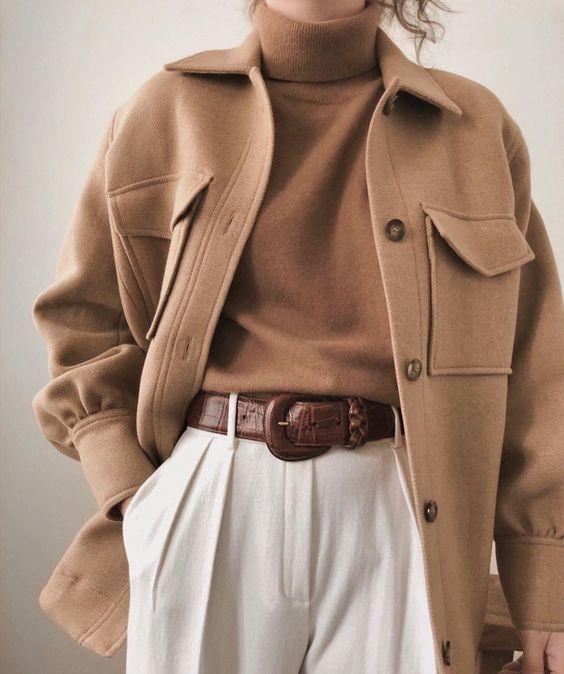 Phối màu be cho trang phục mùa đông dễ dàng nếu bạn biết được 4 cách sau đây - Ảnh 7.