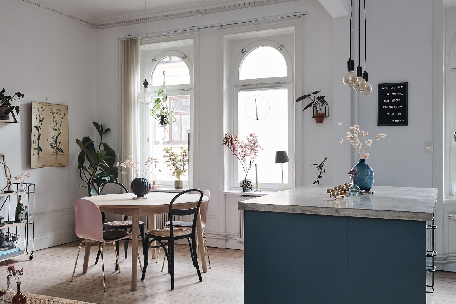Căn hộ 58m² đẹp tinh tế nhờ phối màu tinh tế theo phong cách Scandinavian - Ảnh 9.