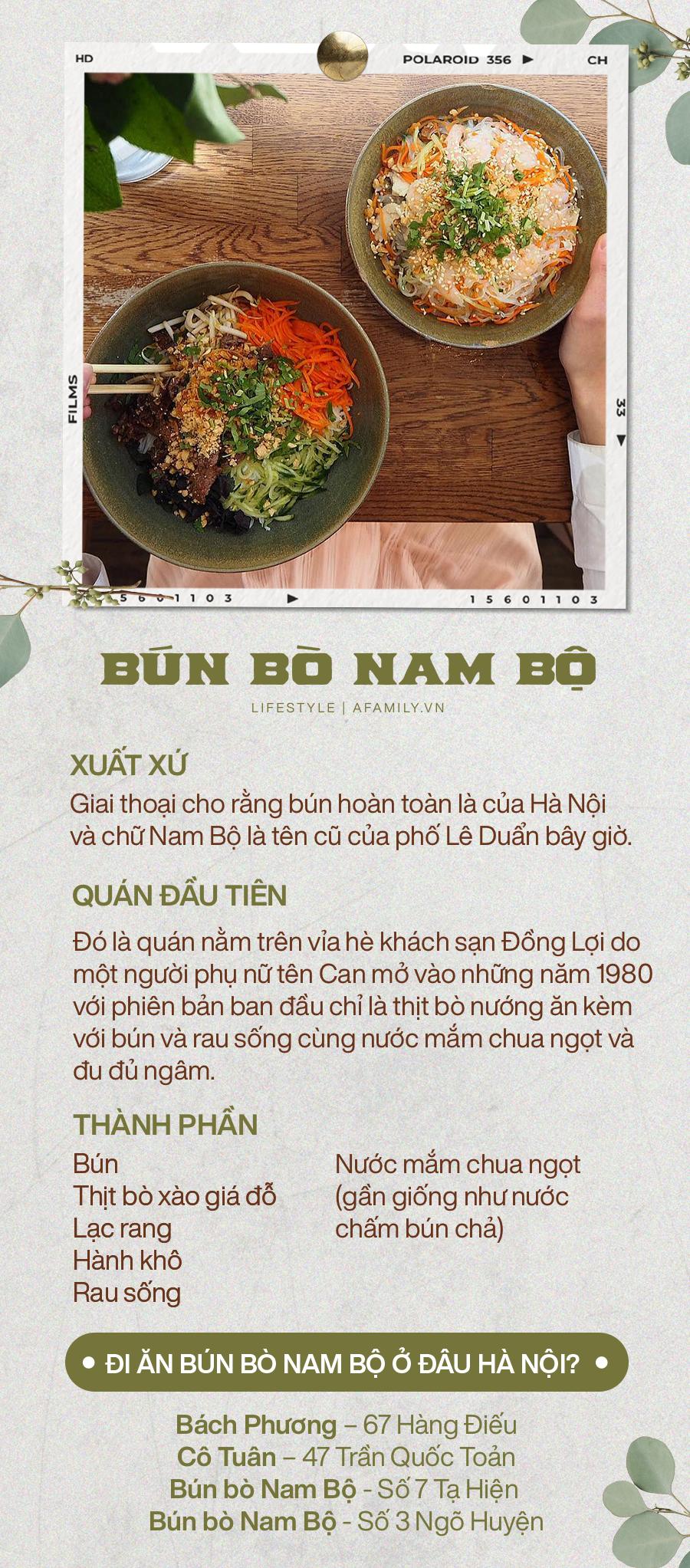 Giai thoại xuất xứ món Bún bò Nam Bộ - cái tên nghe rặt miền Nam nhưng thực ra lại hoàn toàn đến từ một con phố thân quen ở Hà Nội - Ảnh 10.