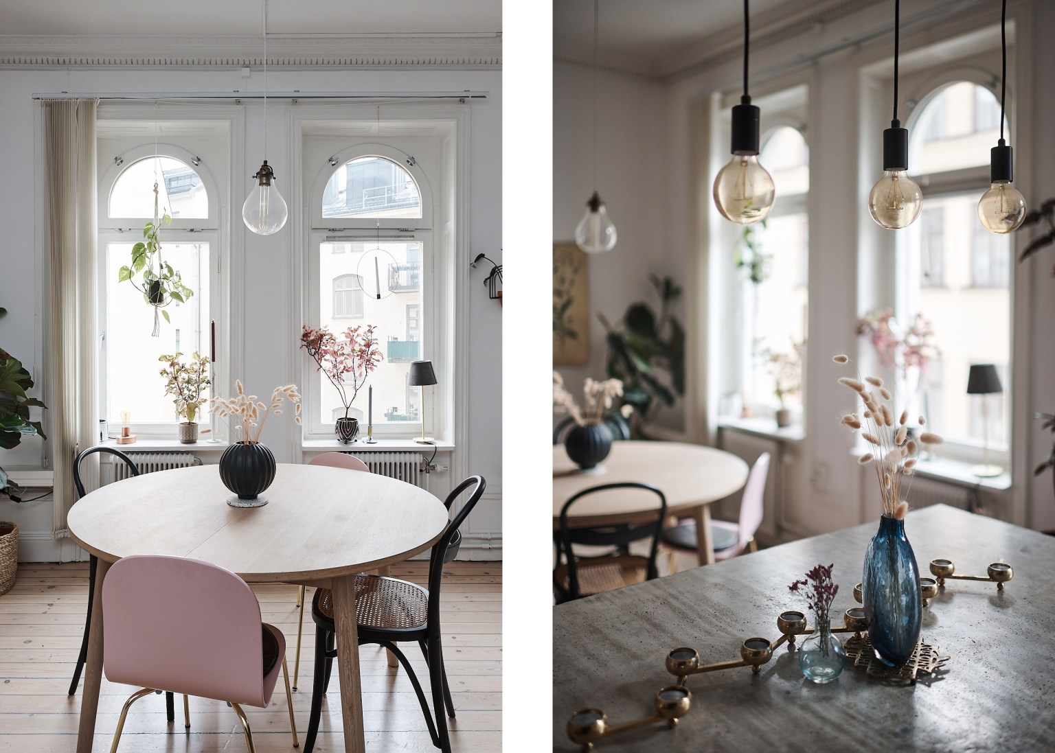 Căn hộ 58m² đẹp tinh tế nhờ phối màu tinh tế theo phong cách Scandinavian - Ảnh 6.