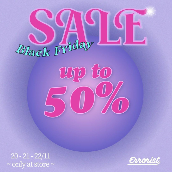 """Các shop quần áo rần rần sale """"sốc"""" Black Friday: Sắm đồ đẹp với giá giảm đến 70% ngay từ bây giờ - Ảnh 8."""