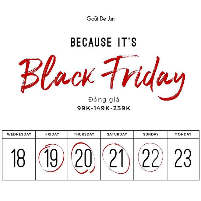 """Các shop quần áo rần rần sale """"sốc"""" Black Friday: Sắm đồ đẹp với giá giảm đến 70% ngay từ bây giờ - Ảnh 11."""