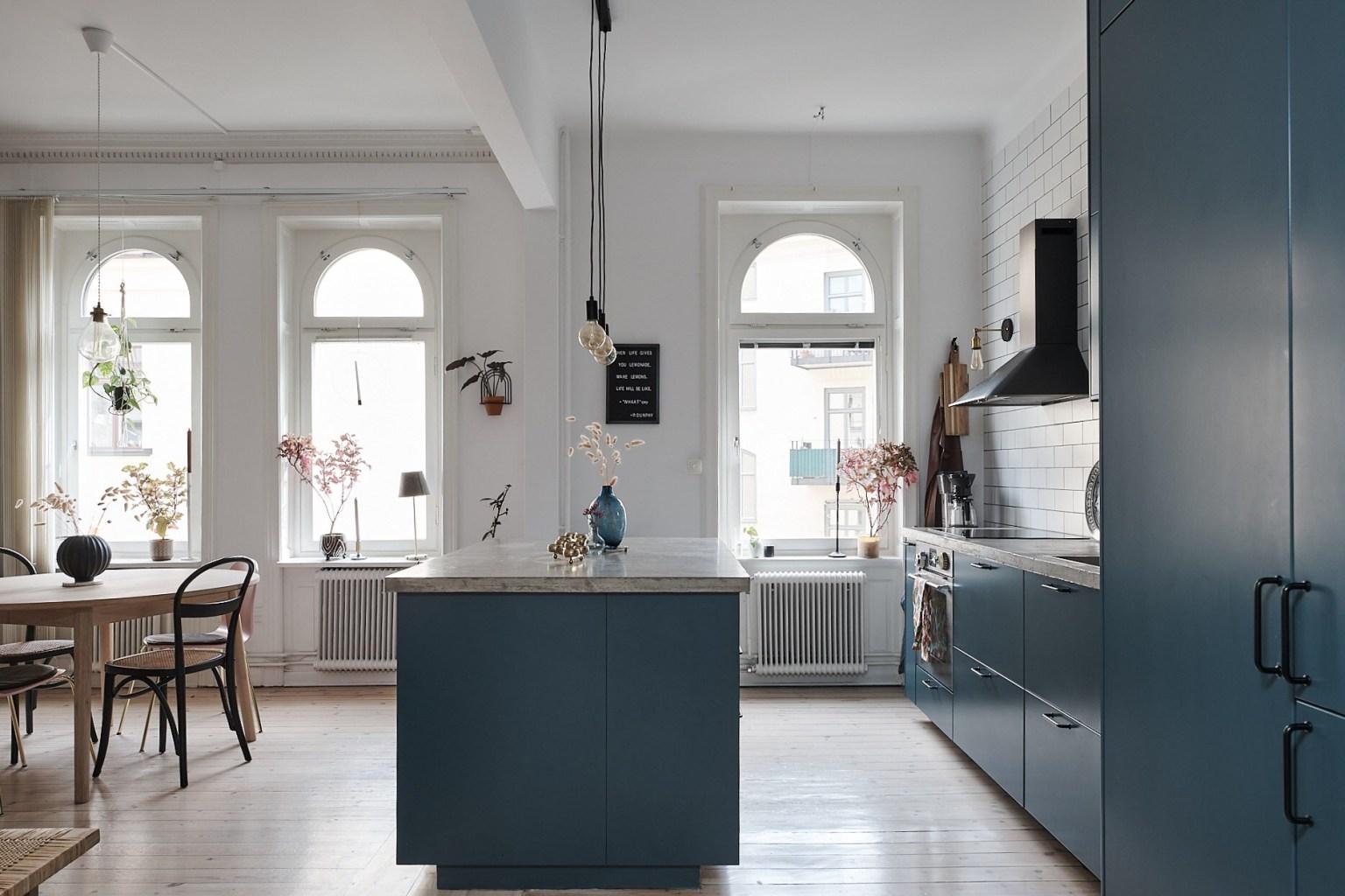 Căn hộ 58m² đẹp tinh tế nhờ phối màu tinh tế theo phong cách Scandinavian - Ảnh 7.