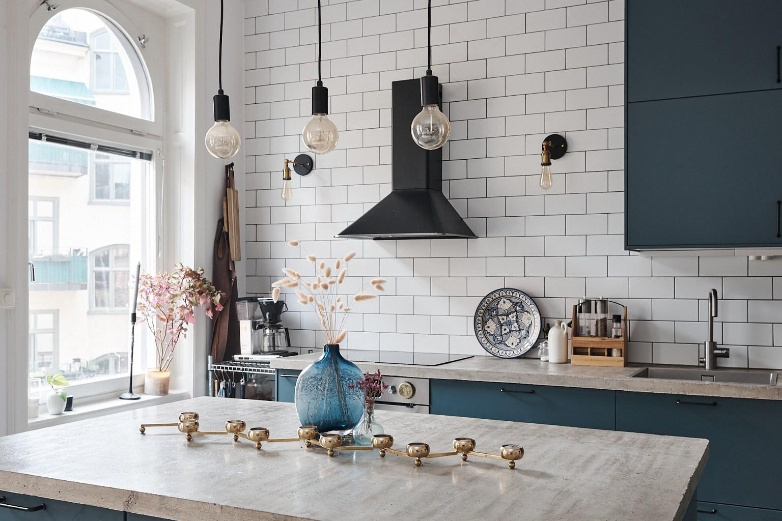 Căn hộ 58m² đẹp tinh tế nhờ phối màu tinh tế theo phong cách Scandinavian - Ảnh 4.