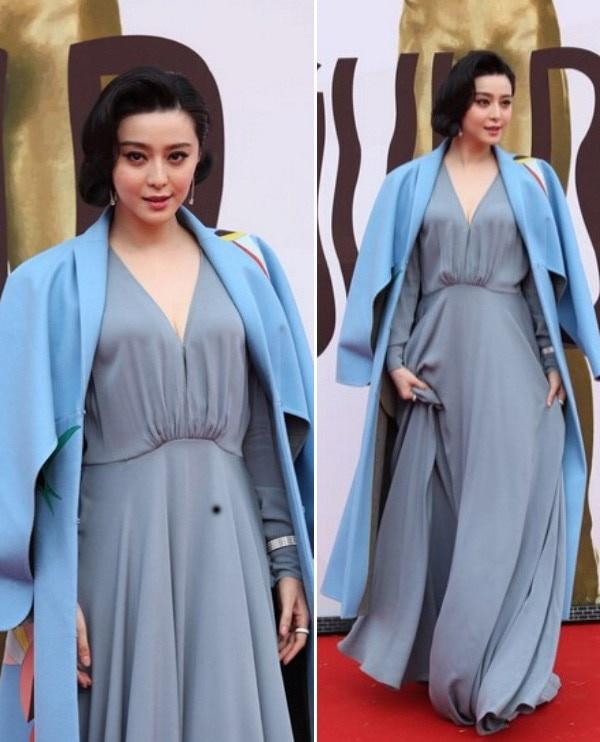 Lời nguyền mặc xấu của sao Hoàn Châu Cách Cách: Lâm Tâm Như và Triệu Vy dìm hàng hiệu, visual Phạm Băng Băng tụt dốc không phanh - Ảnh 5.