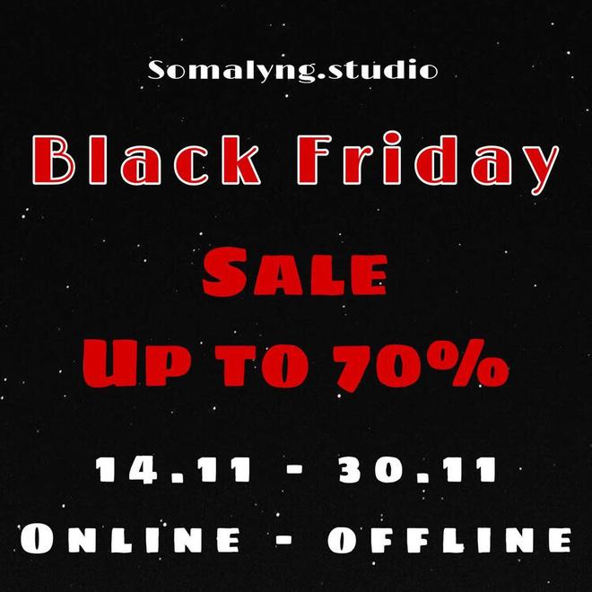 """Các shop quần áo rần rần sale """"sốc"""" Black Friday: Sắm đồ đẹp với giá giảm đến 70% ngay từ bây giờ - Ảnh 7."""
