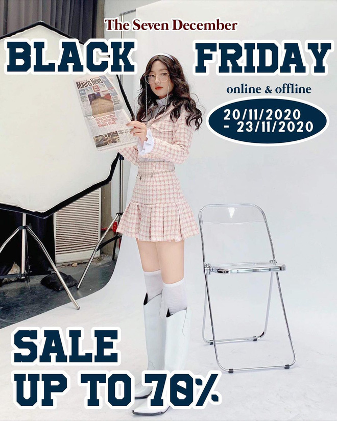 """Các shop quần áo rần rần sale """"sốc"""" Black Friday: Sắm đồ đẹp với giá giảm đến 70% ngay từ bây giờ - Ảnh 4."""