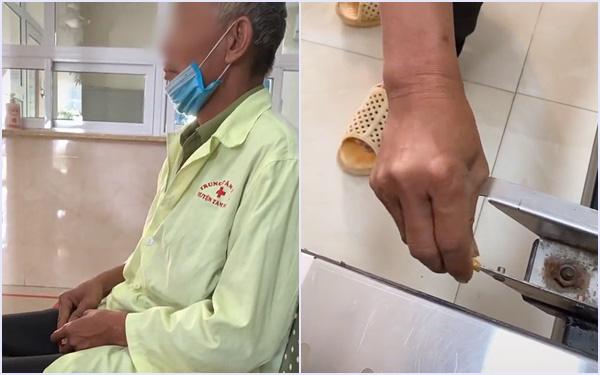 Định can ngăn ông cụ rút bao thuốc ngồi hút giữa bệnh viện, chàng trai ngạc nhiên khi chứng kiến điều vô cùng xúc động sau đó mà cụ đã làm