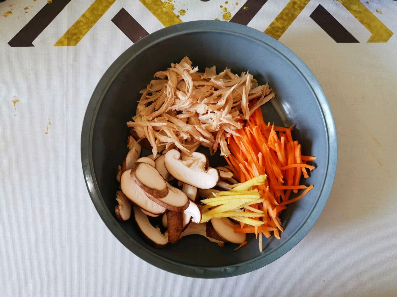Dùng nồi cơm điện nấu cháo gà buổi tối, hôm sau cả nhà có món cháo nóng hổi cực ngon ăn sáng - Ảnh 4.