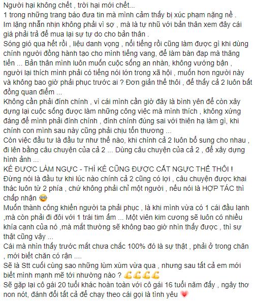 """Vợ """"người đàn ông đầu tiên ở Việt Nam mang thai"""" bất ngờ """"phản công"""" 1 loạt điều chồng cũ nói trong livestream: """"Nếu nói là hợp tác thì phải chấp nhận"""" - Ảnh 4."""