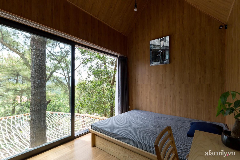 """Ngôi nhà nhỏ 40m² chênh vênh trên núi """"tắm"""" trọn ánh nắng và bóng cây ở ngoại ô Hà Nội - Ảnh 11."""