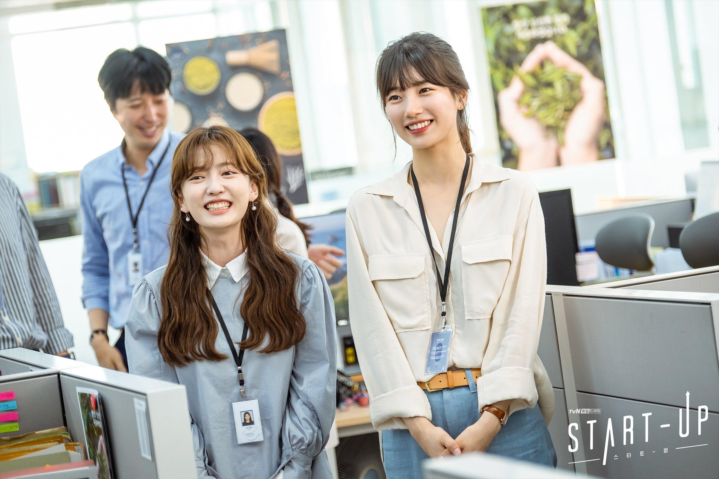 Học ngay Suzy trong Star-Up 4 cách diện áo sơ mi trẻ trung, siêu thanh lịch và còn đẹp từ Hè sang Đông - Ảnh 1.