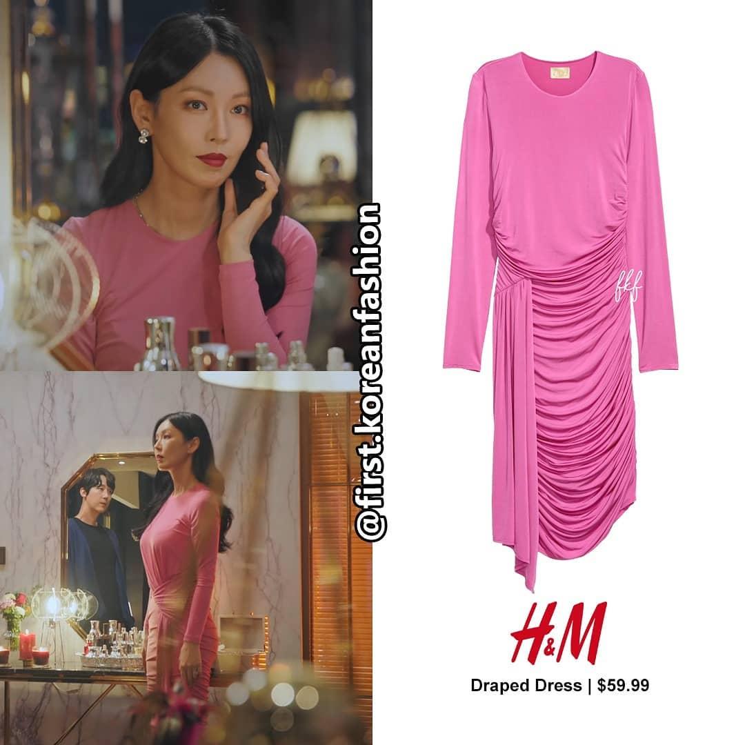 """Màn khoe body và vòng 3 đỉnh cao của nàng """"tiểu tam"""" nóng bỏng nhất phim Hàn lại đến từ bộ đầm H&M giả nhỉnh hơn 1 triệu - Ảnh 3."""