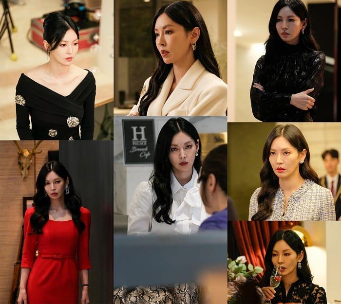 """Màn khoe body và vòng 3 đỉnh cao của nàng """"tiểu tam"""" nóng bỏng nhất phim Hàn lại đến từ bộ đầm H&M giả nhỉnh hơn 1 triệu - Ảnh 1."""
