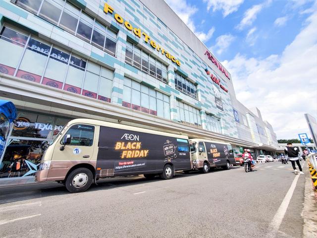 """Black Friday - """"hóa đen dài tập"""" với """"Siêu Bão Sale"""" chỉ có tại Trung tâm Mua sắm AEON Mall! - Ảnh 1."""