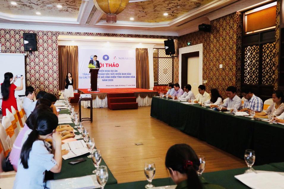 Novartis hỗ trợ y tế cho 10,000 người dân tỉnh Khánh Hòa - Ảnh 1.