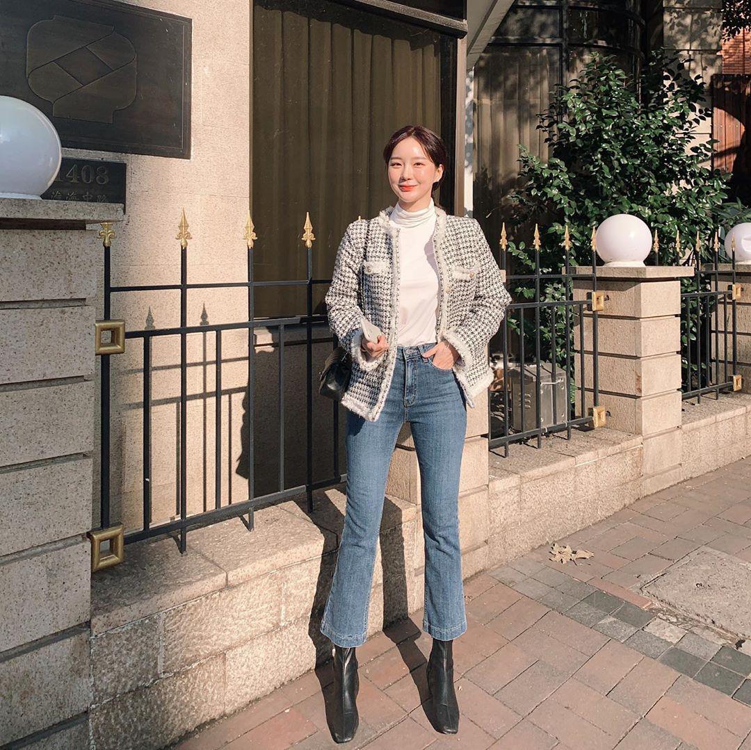 chiêu nâng cấp quần jeans - Ảnh 5.