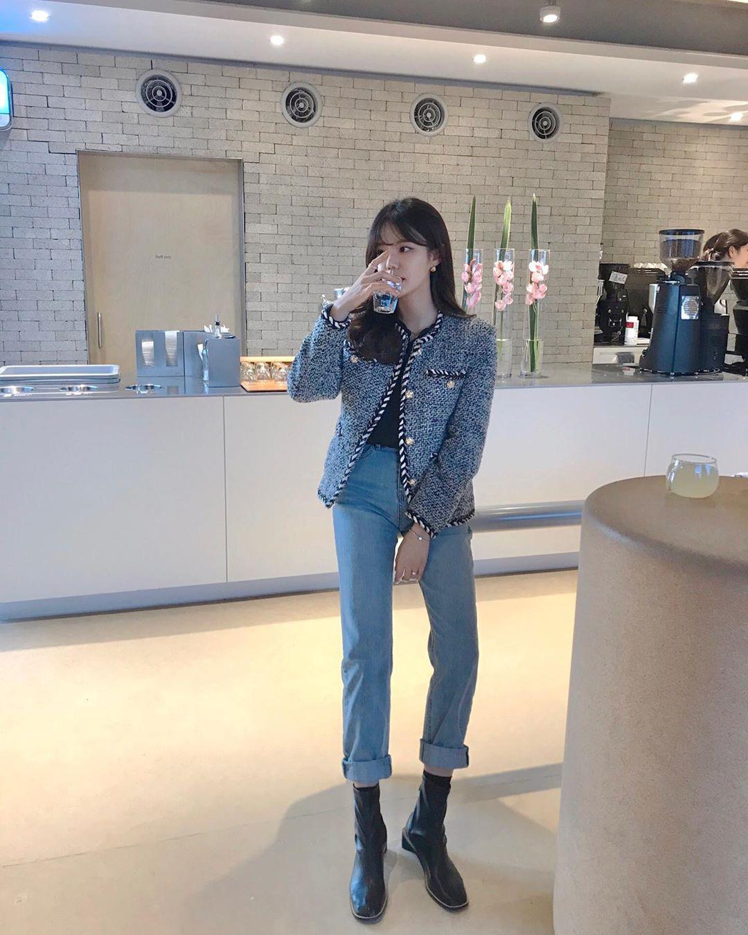 chiêu nâng cấp quần jeans - Ảnh 6.