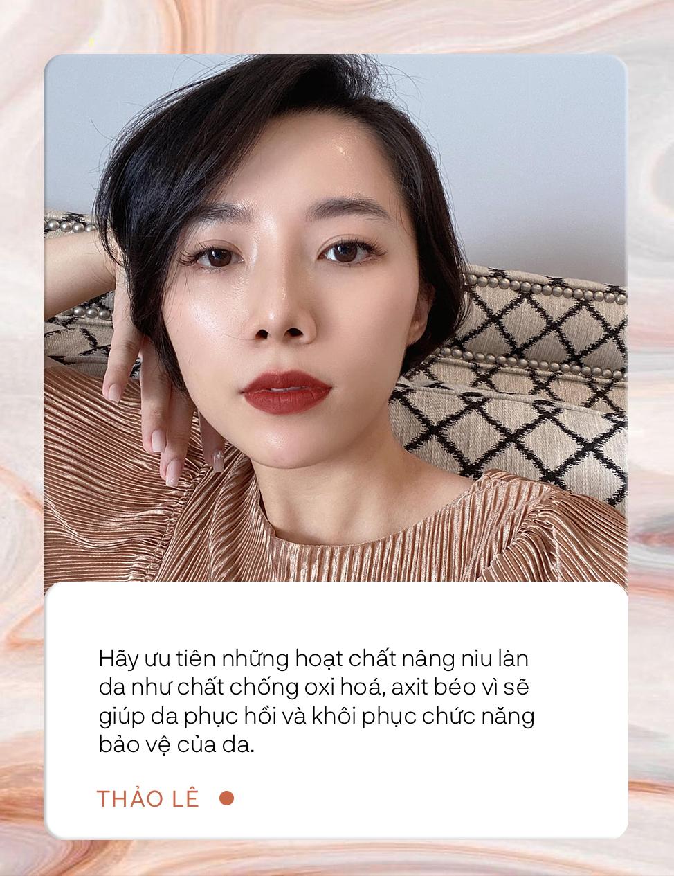 Thảo Lê: Hành trình 5 năm theo chân chuyên da Hàn Quốc, lắm lúc phát bực vì quá nhiều chị em chăm da sai cách  - Ảnh 4.