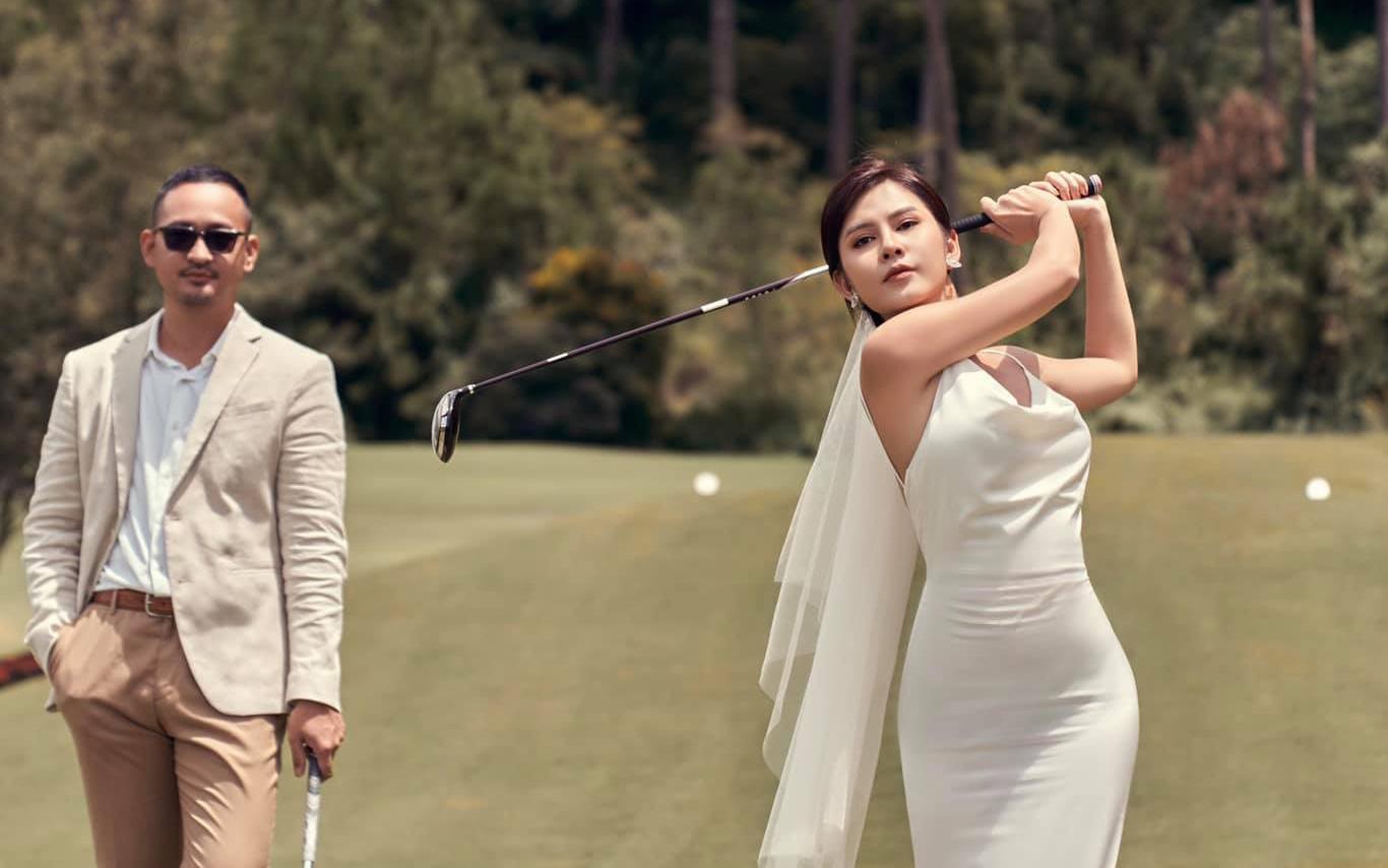 Sau đám hỏi bí mật của thiếu gia Phan Thành, dân tình lại ngạc nhiên với bộ ảnh cưới đẹp lung linh và tiệc mời cưới siêu sang xịn của MC Thu Hoài